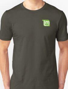Linux Mint Flat Unisex T-Shirt