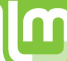 Linux Mint Flat Sticker