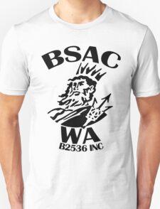 BSAC WA ROUND BLACK LARGE T-Shirt
