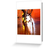 cycle of the seasons Greeting Card