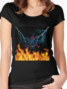 Charmed the power of three 2 Women's Fitted Scoop T-Shirt