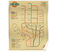 PALMISTRY (SUBWAY STYLE) Poster