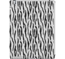 White Tiger Skin iPad Case/Skin