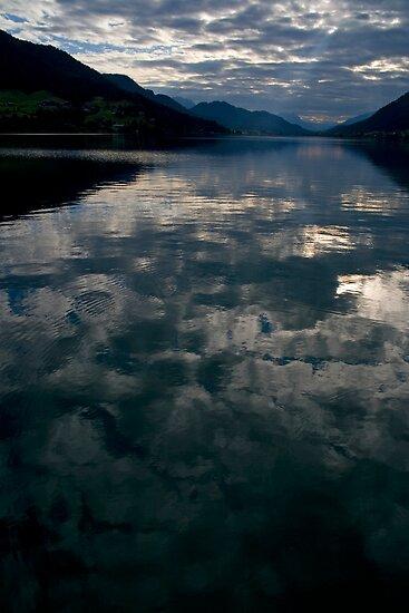 Dawn at the Lake by Walter Quirtmair