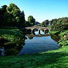 Bridge At Stourhead by lynn carter