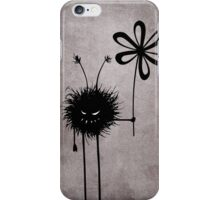Evil Flower Bug Vintage iPhone Case/Skin