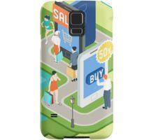 Isometric Virtual Shopping Concept Samsung Galaxy Case/Skin