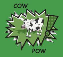 Cow Pow Baby Tee