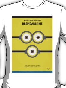 No213 My Despicable minimal movie poster T-Shirt