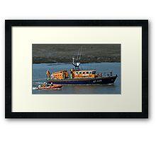Fleetwood Lifeboats Framed Print
