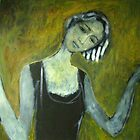 Girl in the door by IvonaTorovin