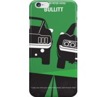 No214 My BULLITT minimal movie poster iPhone Case/Skin