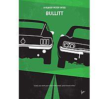 No214 My BULLITT minimal movie poster Photographic Print