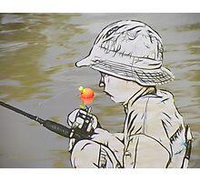 Here Fishy Fishy Fishy Photographic Print