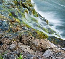 Waterfalls in Ellida River #2 by Stefán Kristinsson
