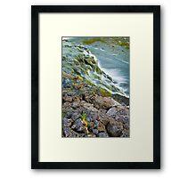 Waterfalls in Ellida River #2 Framed Print