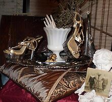 Mistress Persephone's Shoes by Peter Coukis by Peter Coukis