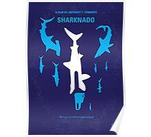 No216 My Sharknado minimal movie poster Poster