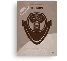 No217 My Oblivion minimal movie poster Canvas Print
