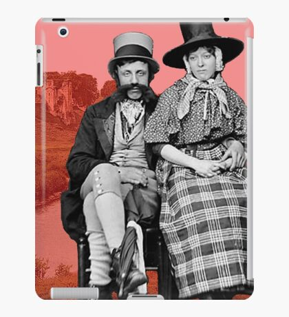 Welsh couple in Kidwelly iPad Case/Skin