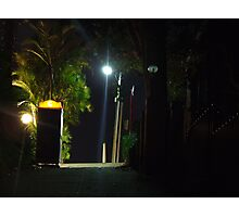 Dr Who telephone booth in the suburbs of Sydney Photographic Print