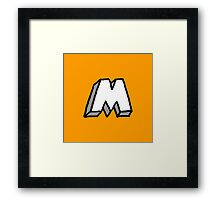 M by Manly Design Framed Print