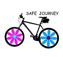Safe journey Photographic Print