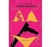 No218 My SPRING BREAKERS minimal movie poster Photographic Print