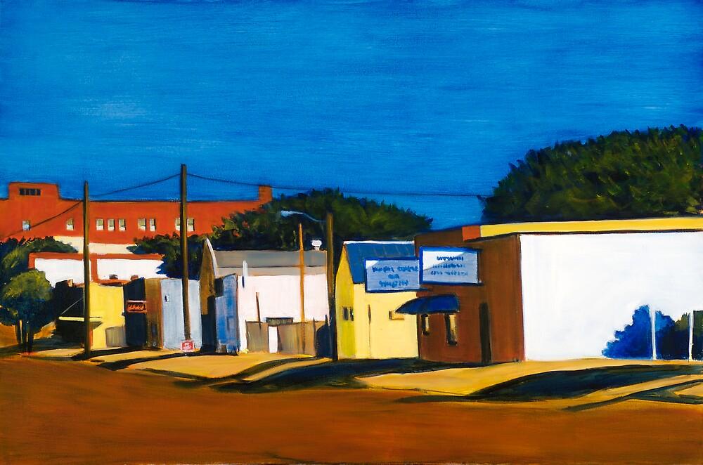 Edge of Town by ashleywellsart