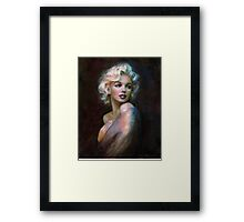 Marilyn WW  Framed Print