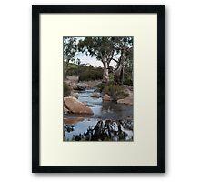 Reedy Creek waterfall Framed Print