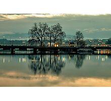 Isle Rousseau Geneva Photographic Print