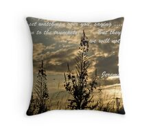 The Watchmen. Throw Pillow