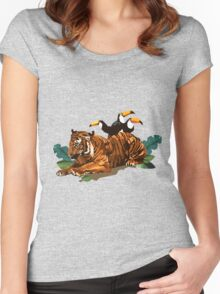 Troubled Tiger Women's Fitted Scoop T-Shirt