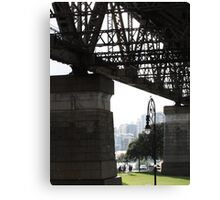 The two pylons Canvas Print