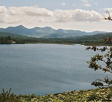 Lough Carragh and MacGillycuddy's Reeks by WatscapePhoto