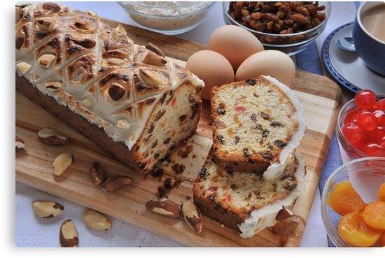 Fruit Brazil Butter Cake by John Hooton