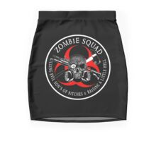 Biohazard Zombie Squad 3 Ring Patch  Mini Skirt