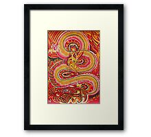 dragon 8 Framed Print