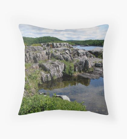 Pukaskwa National Park - Marathon Ontario Throw Pillow