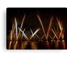 Fireworks 25 Canvas Print