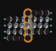 The Moon phases | Las fases de La Luna by tudi