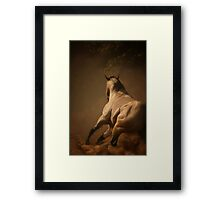 Dancing in the Dust Framed Print