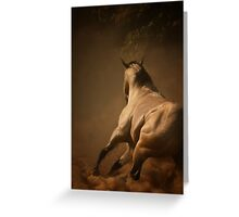 Dancing in the Dust Greeting Card