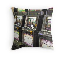 McCarran Baggage Claim Throw Pillow