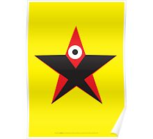 Star Boss, Techno Star, Tattoo Star Poster