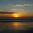 Indian Ocean Sunset by Richard Cassar