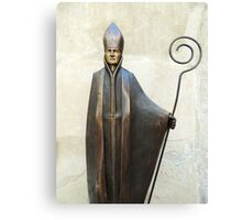 Lone Bishop Canvas Print