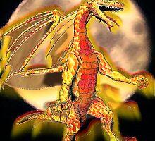 Dragon Moon by copperhead