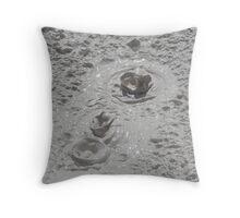 Mud Pot Throw Pillow
